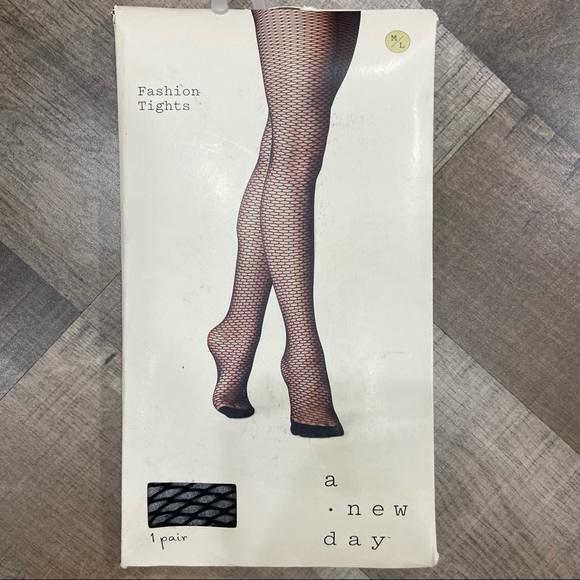a new day Accessories - 🌲CLEARANCE🌲 NWT A New Day Fishnet Tights
